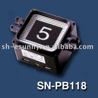 50pcs Free Shipping Elevator push button / elevator button / lift button / high quality competitive price SN-PB118 R1a