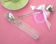 TeaTime Heart Tea Infuser Favor(infuser)-tea supplies,wedding accessories wedding favor