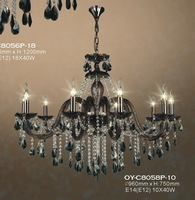 crystal chandelier,Brown Candle chandeliers+Free shipping
