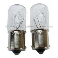 GOOD!miniature lamp lighting bulbs  ba15s t16x46 240v 8w a009
