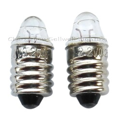 miniature lamp bulbs lighting e10x22 2.2v 0.25a 10pcs a016(China (Mainland))