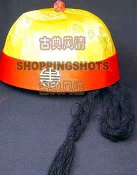 chinese Beijing opera hat cap chapeau headgear 596201 3 free shipping