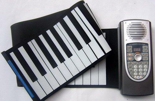 de qualité supérieure flexible clavier de piano piano piano roll rouleau à main