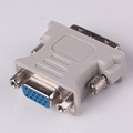 free shipping DVI to VGA Cable,DVI DVI-I (M) to VGA (F) video converter/adapter #9387 free shipping(China (Mainland))