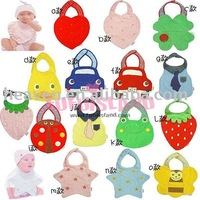[het selling ] baby bibs ,baby cute, 14pcs of 1lot  free shipping