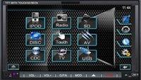 "7"" 2din in dash car DVD IPOD GPS Digital screen 800*480"