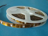 Flexible LED Strip;5050 SMD;30LEDs/m,waterproof by epoxy coating; warm white color;DC12V input; with large stock
