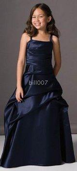 Ball Gown Spaghetti Straps Floor- Length Flower Girl Dresses 2009 Style SKU510158