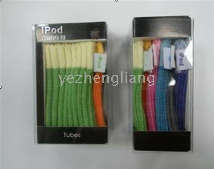 120pcs/lot New stocking Case Skin Cover fits iPod(China (Mainland))