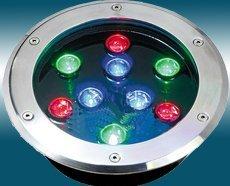 LED Underground light;9*1W;IP67