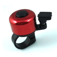 Bike Bell Red sounds helmet Bicycle Alarm Horns+free shipping