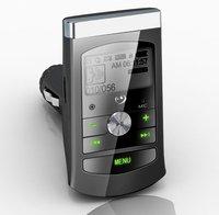 A single car mp3 player car audio USB Player FM Transmitter car mp3 transmitter