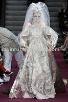 lace embroidered queen top design wedding dresses,bridal wedding gowns DS1920