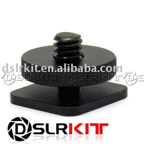 "Aluminum 1/4"" Tripod screw to Shoe Adapter for Nikon SC-28 SC-29(China (Mainland))"