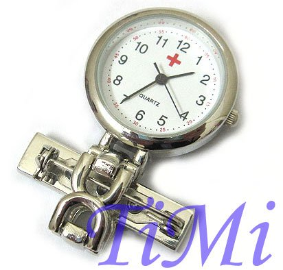Very Nice Min Size Pendant Nurses Pocket watch+Brooch(China (Mainland))