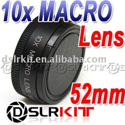 Conversion Lens! 52mm 10x MACRO LENS +10 Close Up for Canon Nikon Sony(China (Mainland))