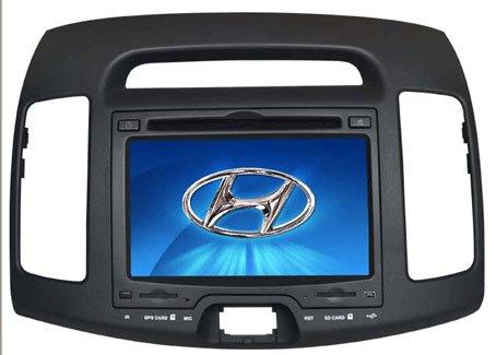 HYUNDAI ELANTRA carro dvd player com sistema de navegação GPS(China (Mainland))