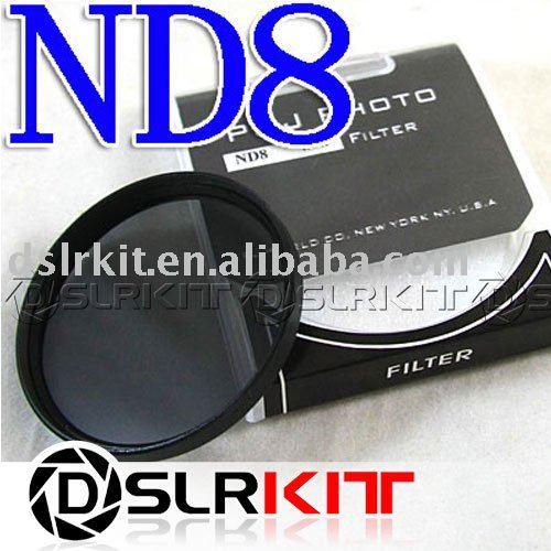 TIANYA 62mm 62 mm Neutral Density ND 8 ND8 Filter(China (Mainland))
