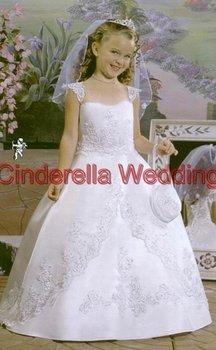 Children's dress  Flower girl dress   girl's gown & Children's DressHT01225