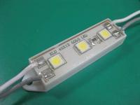 Waterproof SMD LED Module, 3pcs 5050 SMD LED,  white color;
