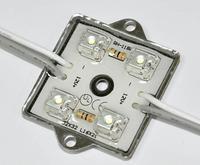 Waterproof super flux LED Module, 4pcs paranha LED,white color;