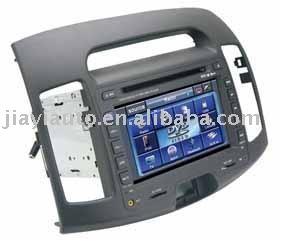 7 polegadas de vídeo do carro do carro DVD GPS para HYUNDAI ELANTRA(China (Mainland))