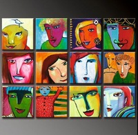 High Quality Modern Abstract Oil Painting on Canvas art DY-5001 picture on wall