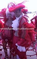 "200pcs Carnaval Decorative Ostrich Feather CF002(28-30"") length)"