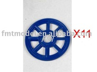 F00211-11,  11x Blue New main drive gear for ALL TREX T-REX  450 Rc Helicopter  + Free shipping