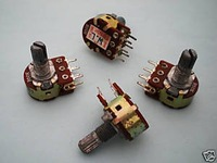 10 x B50K Dual Stereo Potentiometer Pots Shaft S 15mm