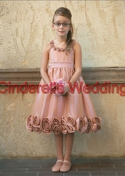 Children's dress  Flower girl dress   girl's gown & Children's DressHT01252