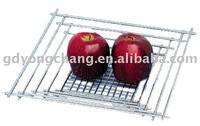 2012 Square Metal Fruit Basket