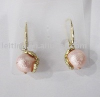 Pearl's earrings from ornament factory