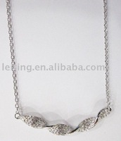 Fashion metal chain necklaces from ornament factory