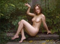 Art oil painting Repro: NUDE Naked GIRL 24x36 inch