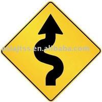 600mm aluminum road sign
