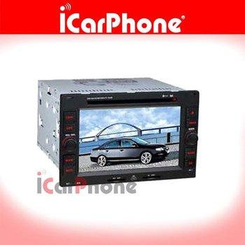 "iCarPhone. 6"" Indash DVD Player GPS VW Passat B5 Polo Golf Jetta 02-09"
