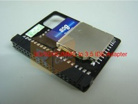 SDHC SD MMC to 3.5 IDE SSD Female adaptor,mini ITX