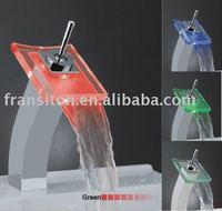 DHL Free shipping-Led mixer faucet