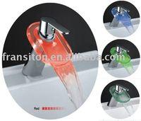 DHL free shipping-Led color Led faucet