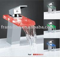 DHL free shipping-Led basin faucet