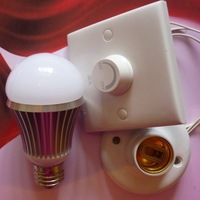 Triac Dimmable led bulb;7*1W;E27base;dimmable by a traditional dimmer;480-500lm;white color