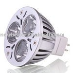 Free shipping led lighting 3x1W MR16 CE, RoHs Taiwan chipset