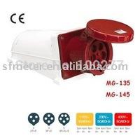 CEE Sockets /Industrial Sockets / Industrial plugs & sockets 125A CE certificate