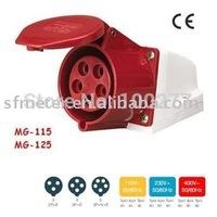CEE Sockets /Industrial Sockets / Industrial plugs & sockets/receptacle 32A CE certificate