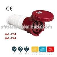 Coupler / CEE Coupler / CEE Connector / Industrial Connector /Plug connector/ socket connector CE certificate 125A