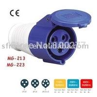 Coupler / CEE Connectors / Industrial Connectors /Plug connectors/ socket connectors CE certificate 32A