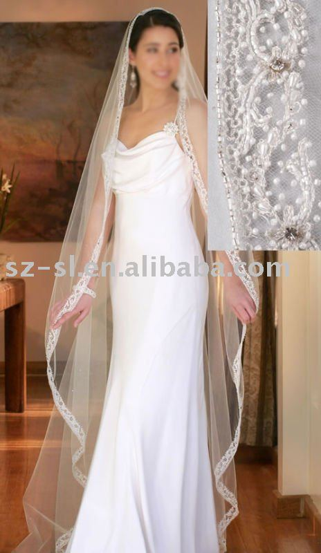 Long bridal veils SL-60