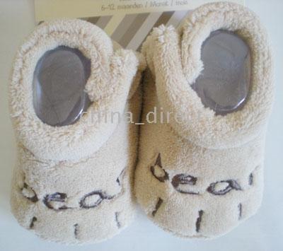 36pairs boot / muito novo Sapatinho bebê meias infantis Meias sapatos meninos meninas sapatos(China (Mainland))