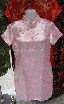 Prom Dresses Qipao gown dress Party dress Girls 20 pcs/lot Silk Dress Cheongsam